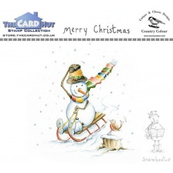 (CCSBMC)The Card Hut Snowboots: Merry Christmas Clear Stamps