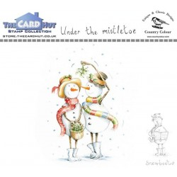 (CCSBUM)The Card Hut Snowboots: Under the Mistletoe Clear Stamps