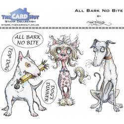 (MBPABNB)The Card Hut All Bark No Bite Clear Stamps