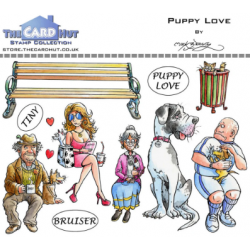 (MBPPL)The Card Hut Puppy Love Clear Stamps