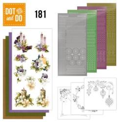 (DODO181)Dot and Do 181 - Precious Marieke - A Touch of Christmas - Candles