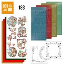 (DODO183)Dot and Do 183 - Yvonne Creations - Christmas Village - Christmas Village