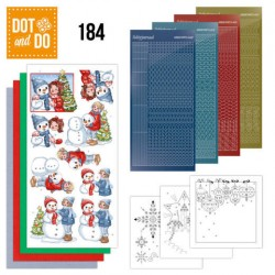 (DODO184)Dot and Do 184 - Yvonne Creations - Bubbly Girls - Christmas