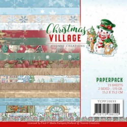 (YCPP10033)Paperpack - Yvonne Creations - Christmas Village