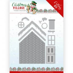 (YCD10209)Dies - Yvonne Creations - Christmas Village - Build Up House
