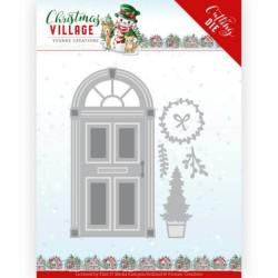 (YCD10210)Dies - Yvonne Creations - Christmas Village - Christmas Door