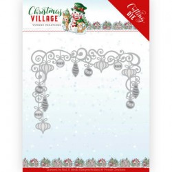 (YCD10211)Dies - Yvonne Creations - Christmas Village - Christmas Baubles