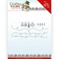 (YCD10212)Dies - Yvonne Creations - Christmas Village - Christmas Lights