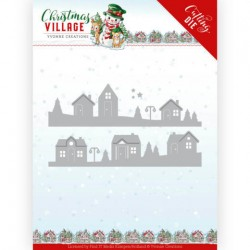 (YCD10213)Dies - Yvonne Creations - Christmas Village - House Scene