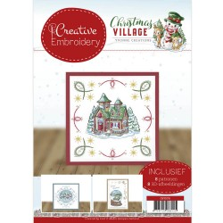 (CB10016)Creative Embroidery 16 - Yvonne Creations - Christmas Village