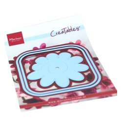 (LR0673)Creatables Square box & flower