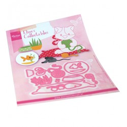 (COL1486)Collectables Eline's cat accessories