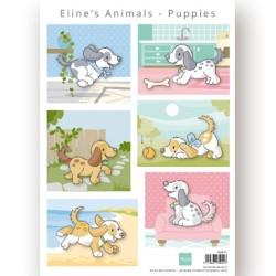 (AK0079)Eline's Animals Puppies