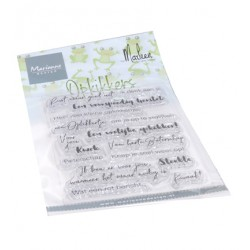 (CS1065)Clear stamp Opkikkers by Marleen