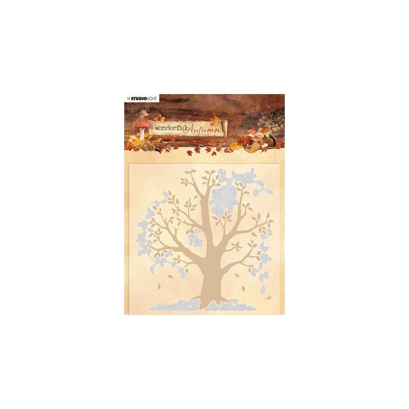 (EMBWA05)Studio Light Cutting and Embossing Die Cut , Wonderful Autumn, nr.05