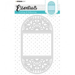 (STENCILSL298)Studio Light Cutting and Embossing Die, Card Shape Essentials, nr.298