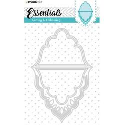 (STENCILSL301)Studio Light Cutting and Embossing Die, Card Shape Essentials, nr.301