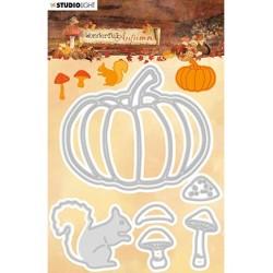 (STENCILWA309)Studio Light Cutting and Embossing Die, Wonderful Autumn, nr.309