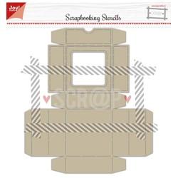 (6005/0003)Embosstencil polybesa scrap box