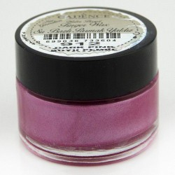 (01 015 0912 0020)Cadence Water Based Finger Wax Dark Pink 20 ML