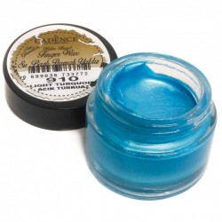 (01 015 0910 0020)Cadence Water Based Finger Wax Light Turquoise 20 ML