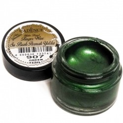 (01 015 0907 0020)Cadence Water Based Finger Wax Green 20 ML