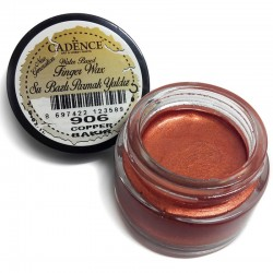 (01 015 0906 0020)Cadence Water Based Finger Wax Copper 20 ML
