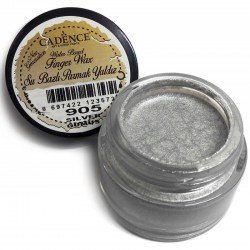 (01 015 0905 0020)Cadence Water Based Finger Wax Silver 20 ML
