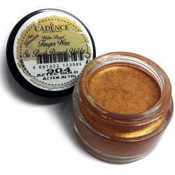 (01 015 0904 0020)Cadence Water Based Finger Wax Aztec Gold 20 ML