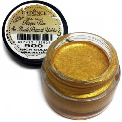 (01 015 0900 0020)Cadence Water Based Finger Wax Inca Gold 20 ML