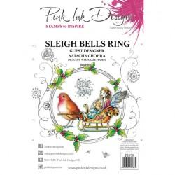 (PI078)Pink Ink Designs Clear stamp Sleigh bells