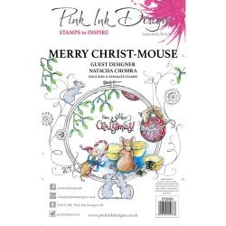 (PI080)Pink Ink Designs Clear stamp Christ mouse