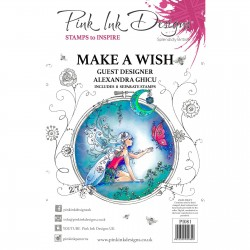 (PI081)Pink Ink Designs Clear stamp Make a wish