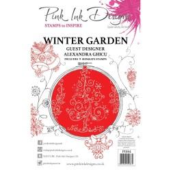 (PI084)Pink Ink Designs Clear stamp Winter garden