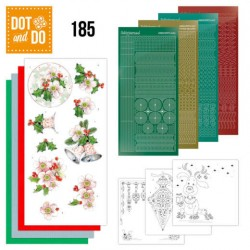 (DODO185)Dot and Do 185 - Jeanine's Art - Christmas Flowers - Pink Christmas Flowers