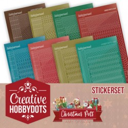 (CHSTS005)Creative Hobbydots 5 - Amy Design - Christmas Pets - Sticker Set