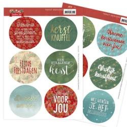 (ADTD1001)Tekst Designs - Amy Design - Christmas Pets (NL)