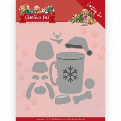 (ADD10213)Dies - Amy Design - Christmas Pets - Christmas Dog