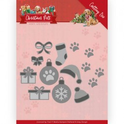 (ADD10215)Dies - Amy Design - Christmas Pets - Christmas Decorations