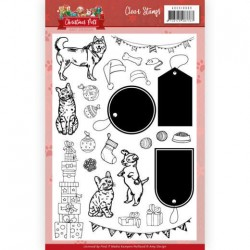 (ADCS10069)Clear Stamps - Amy Design - Christmas Pets