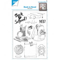 (6410/0528)Clear stamp Back to School