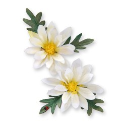 (658407)Thinlits Die Set 2PK -Flower, Mini Daisy