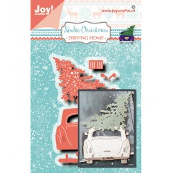 (6002/1505)Cutting dies Nordic Christmas - Driving Home