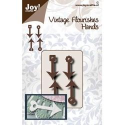 (6003/0097)Cutting dies Vintage flourishes - Hands