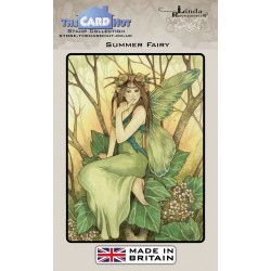 (LRFF001)The Card Hut Summer Fairy Clear Stamps