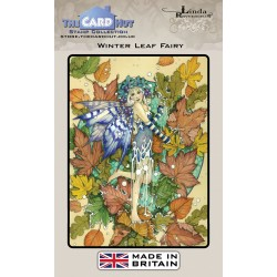 (LRFF003)The Card Hut Winter Leaf Fairy Clear Stamps