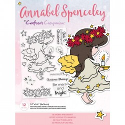 (AS-STP-BEMGHT)Crafter's Companion Annabel Spenceley Be Merry and Bright Stamps