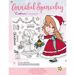 (AS-STP-MAKGHT)Crafter's Companion Annabel Spenceley Making Spirits Bright Stamps