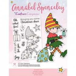 (AS-STP-OHWFUN)Crafter's Companion Annabel Spenceley Oh What Fun! Stamps