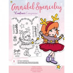 (AS-STP-TWIKLE)Crafter's Companion Annabel Spenceley Twinkle Twinkle Stamps